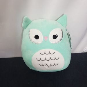 Imogen the teal owl squishmallow 8 inch NWT